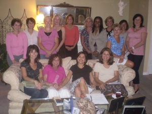 Claudia Lawler and friends at the Finance for Women Workshop she held.